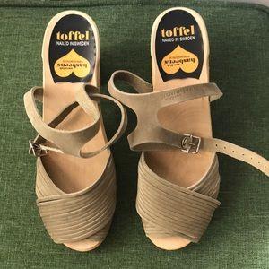 Suede Swedish Hasbeen Sandals